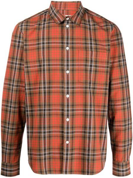 Рубашка в клетку - красная Wood Wood