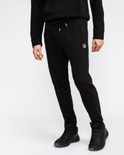 Спортивные брюки черные плоский Fila