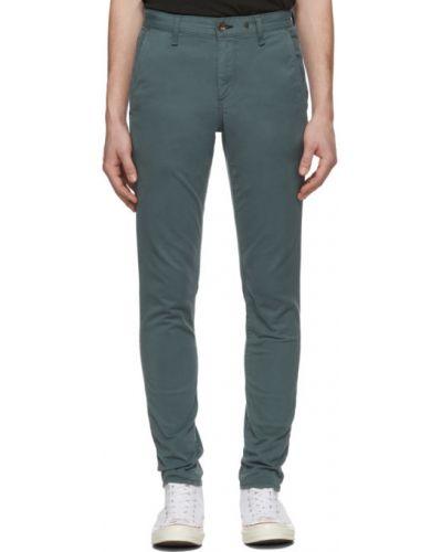 Spodnie wąskie cięcie z kieszeniami z haftem Rag & Bone