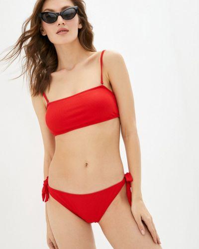 Красный купальник бандо Delice