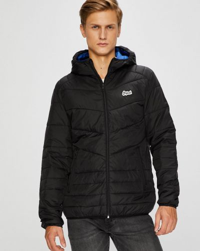 Утепленная куртка с капюшоном стеганая Jack & Jones