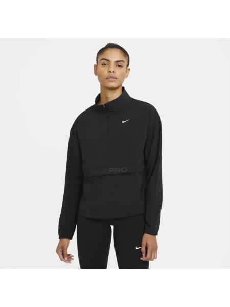 Bluzka z kołnierzem z mankietami z kieszeniami Nike