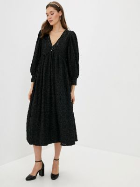 Вечернее платье черное весеннее Sister Jane
