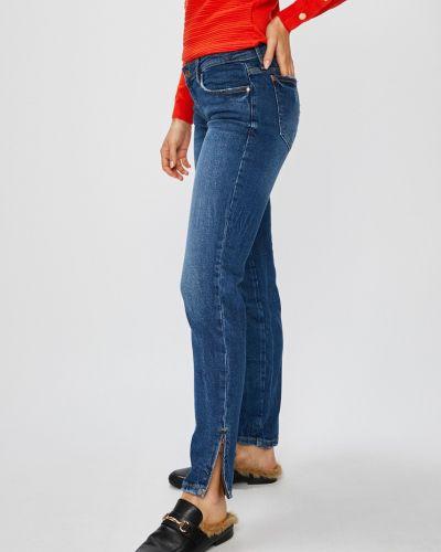 Джинсы-скинни с низкой посадкой с эффектом потертости Guess Jeans
