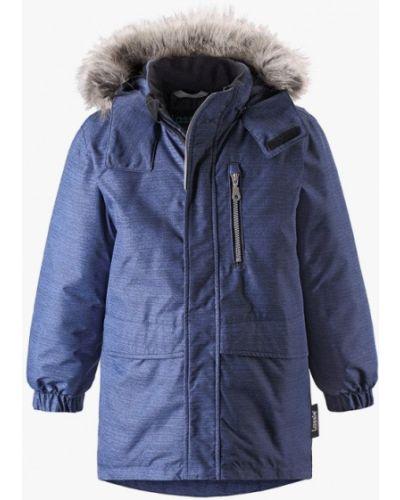 Куртка теплая синий Lassie