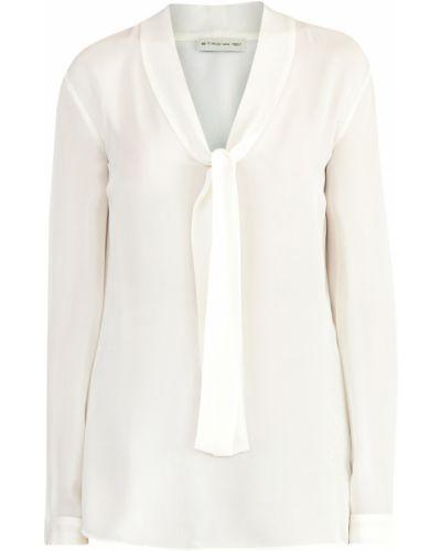 Блузка с V-образным вырезом шелковая Etro
