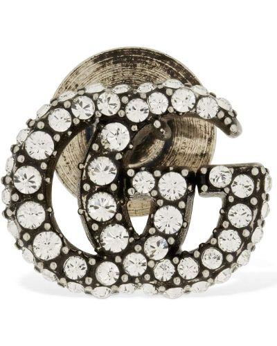 Srebro broszka ze srebra Gucci