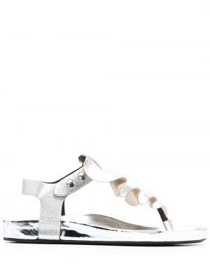 Sandały skorzane Isabel Marant