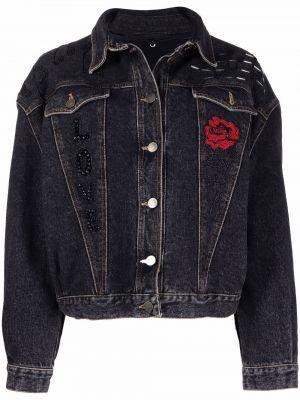 Черная длинная куртка A.n.g.e.l.o. Vintage Cult