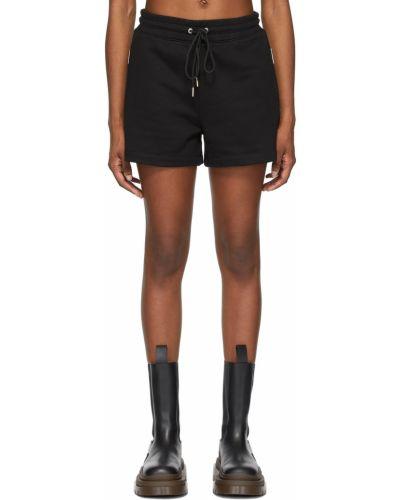Черные махровые шорты Dion Lee