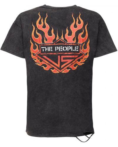 Koszula z nadrukiem The People Vs