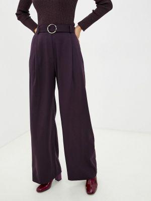 Широкие брюки - фиолетовые энсо