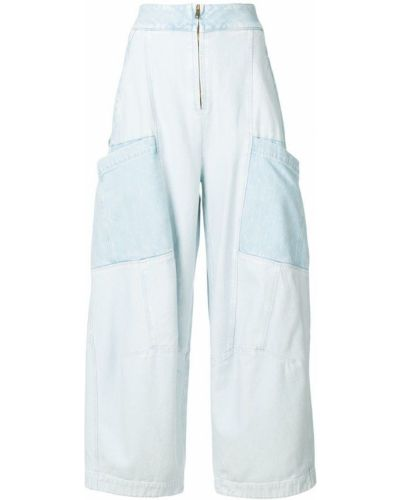 Расклешенные джинсы с карманами Chloé
