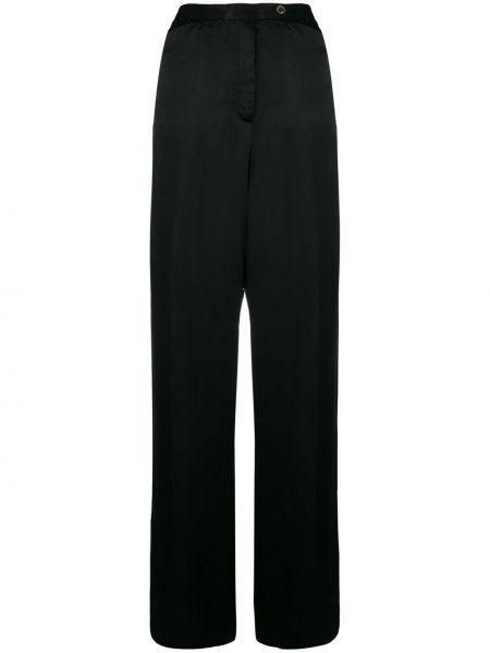 Прямые брюки винтажные с воротником со складками Emanuel Ungaro Pre-owned