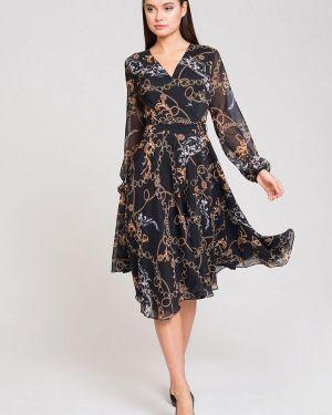 Платье с запахом осеннее Luisa Wang