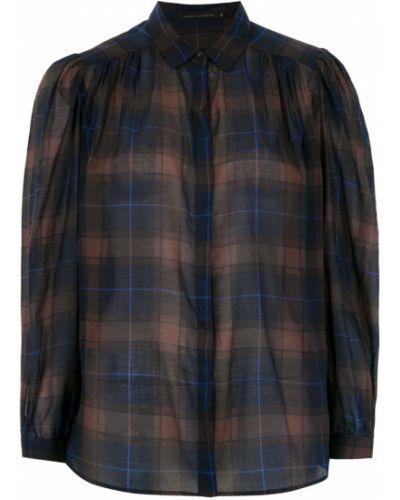 Рубашка с длинным рукавом в клетку на пуговицах Andrea Marques