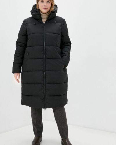 Теплая черная куртка Junarose