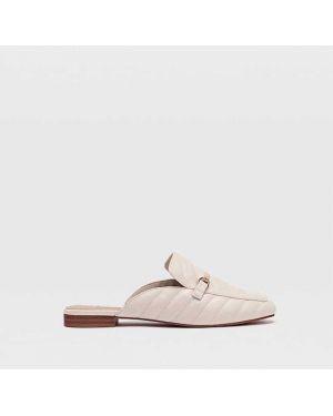 Туфли на каблуке без каблука с пряжкой Stradivarius