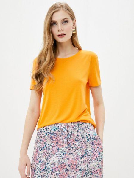 Оранжевое футбольное поло Marks & Spencer