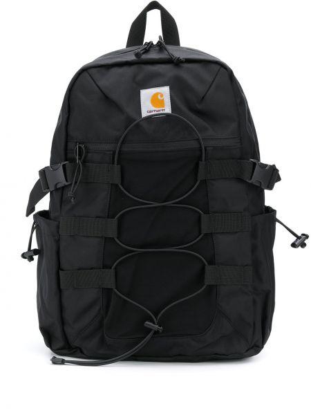 Czarny plecak klamry z nylonu Carhartt Wip