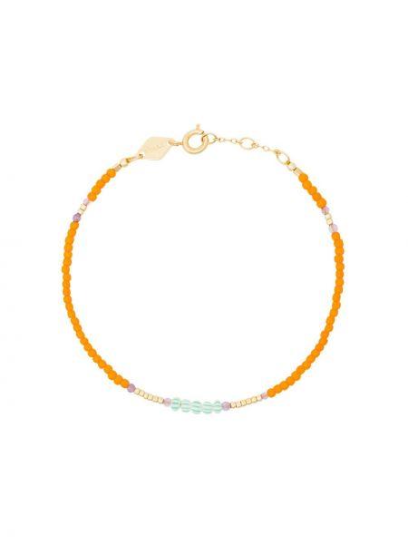 Золотой браслет золотой позолоченный Anni Lu