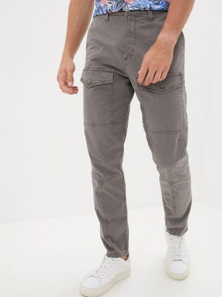 Серые брюки карго Angelo Bonetti