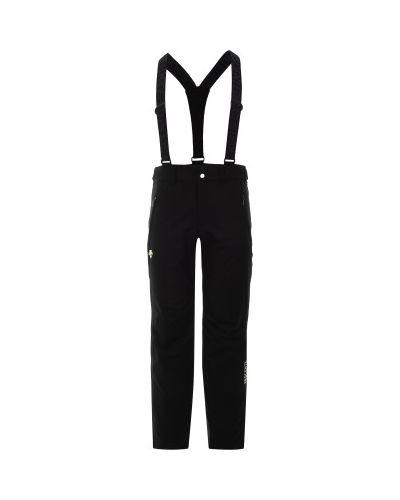 Спортивные брюки утепленные с карманами Descente