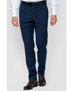 Синие классические брюки Arber