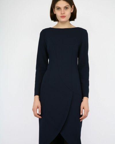 Платье осеннее синее Monton