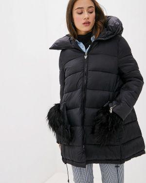 Теплая черная куртка J.b4