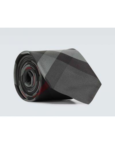 Jedwab krawat Burberry