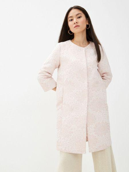 Пальто розовое летнее анна голицына
