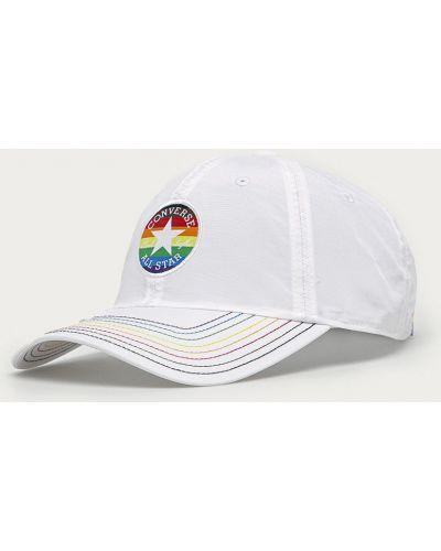 Biały kapelusz Converse