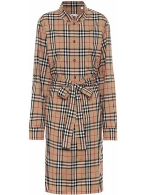 Платье-рубашка винтажное Burberry