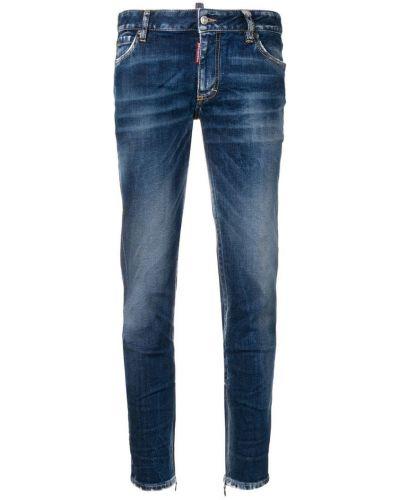 Укороченные джинсы варенки на пуговицах Dsquared2