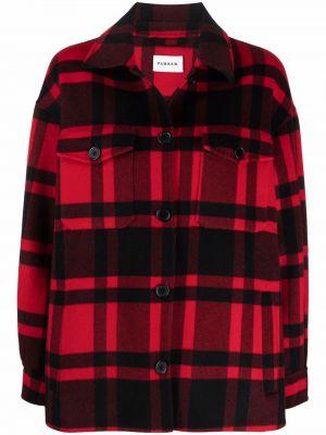 Черная рубашка с длинным рукавом с длинными рукавами P.a.r.o.s.h.