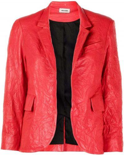 Красный пиджак из полиэстера Zadig&voltaire
