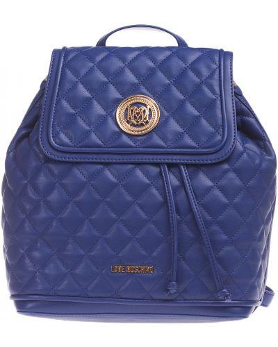Рюкзак на шнуровке с отделениями Love Moschino