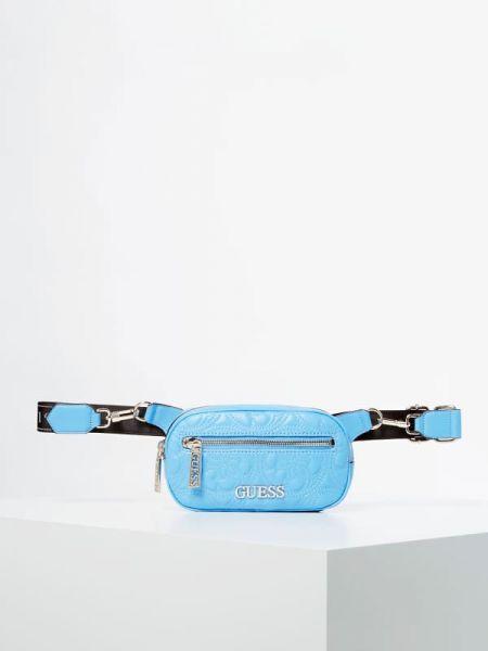 Niebieska złota torebka Guess