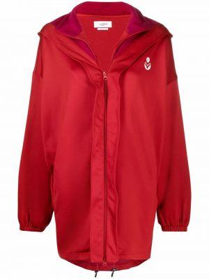 Красная куртка из полиэстера Isabel Marant étoile