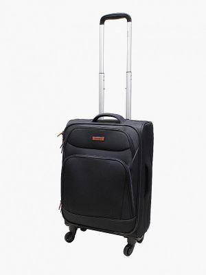 Черный чемодан Edmins