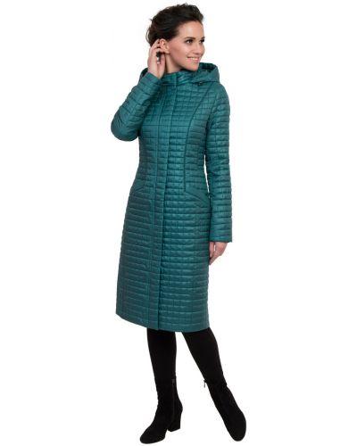 Пальто с капюшоном с воротником-стойкой на кнопках J-splash