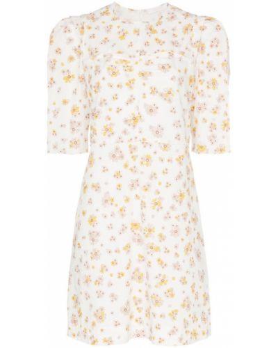 Платье мини с цветочным принтом на молнии See By Chloé