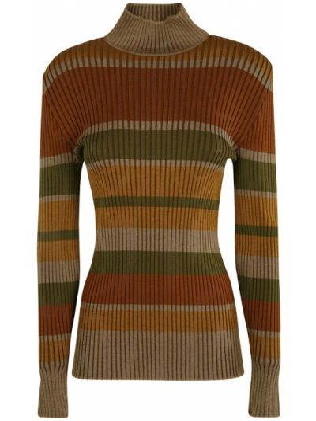 Brązowy sweter Alberta Ferretti