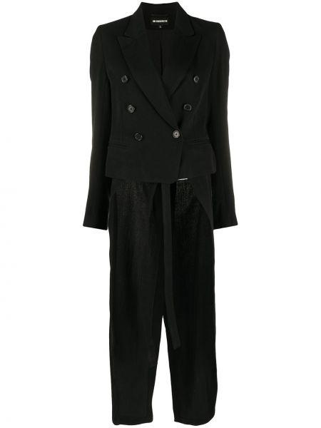Длинная куртка - черная Ann Demeulemeester