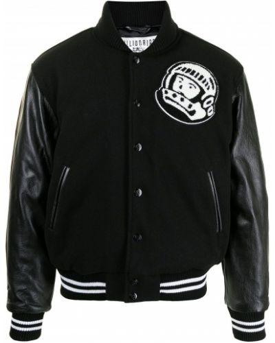 Черная кожаная куртка Billionaire Boys Club