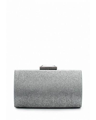 Клатч серебряного цвета Olga Berg