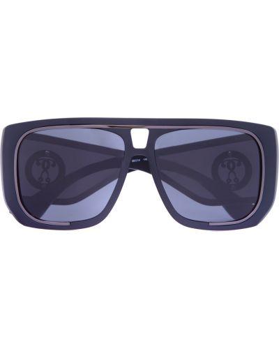 Солнцезащитные очки металлические стеклянные Moschino