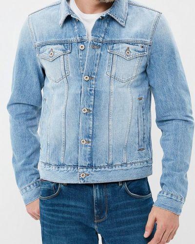 Джинсовая куртка осенняя Tommy Hilfiger