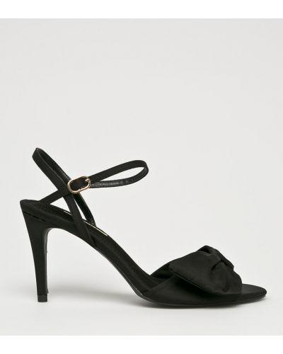 Туфли на каблуке на шпильке текстильные Corina